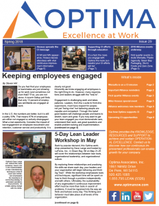 Quarterly Newsletter – Spring 2018